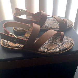 Crown Vintage Snake Sandals Size 9.5